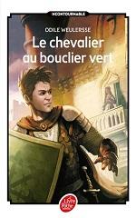 du livre le chevalier au bouclier vert d